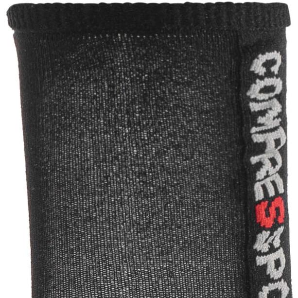 Compressport Pro Racing V3.0 Ultralight Bike Socken black/red