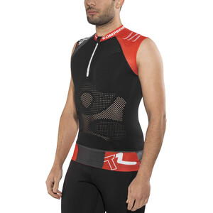 Compressport Trail Running V2 Tank Top Herren black black
