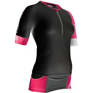 Compressport TR3 Aero Triathlon Top Damen black black