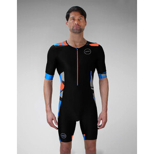 Zone3 Activate+ Kurzarm Trisuit Herren midnight camo midnight camo