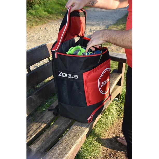 Zone3 Transition Rucksack black/red