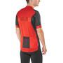 Alé Cycling Solid Block Kurzarm Trikot Herren red-black