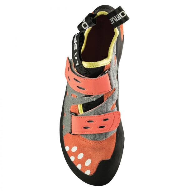 La Sportiva Tarantula Climbing Shoes Dam coral
