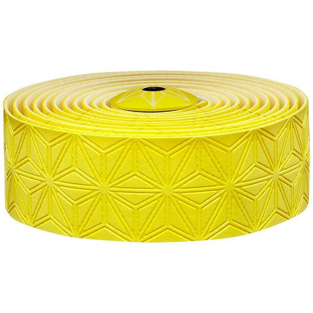 Supacaz Super Sticky Kush Starfade Handlebar Tape yellow