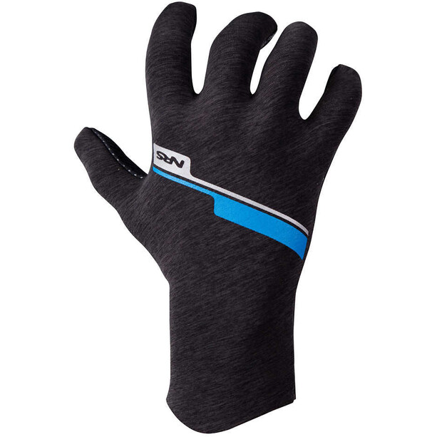 NRS HydroSkin Gloves gray heather