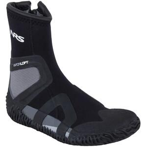 NRS Paddle Wetshoes Herr black/gray black/gray