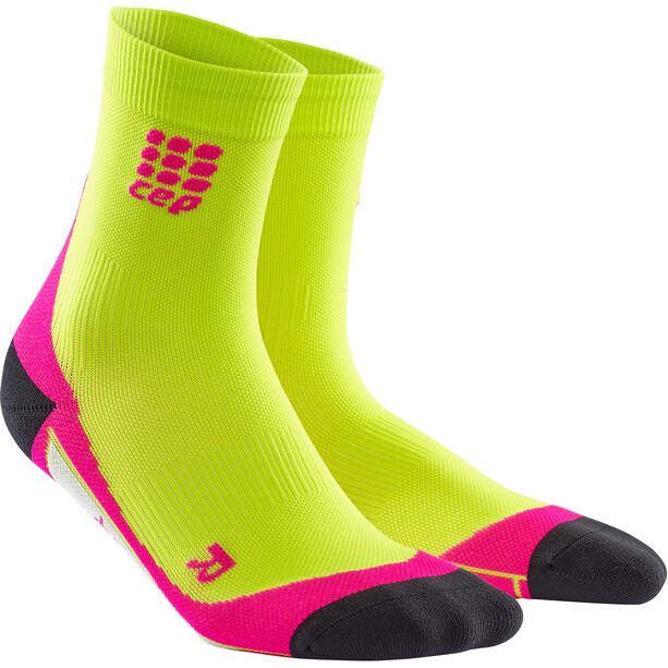 cep Dynamic+ Kurze Socken Damen lime/pink