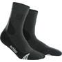 cep Dynamic+ Outdoor Merino Mid-Cut Socken Damen grey/black
