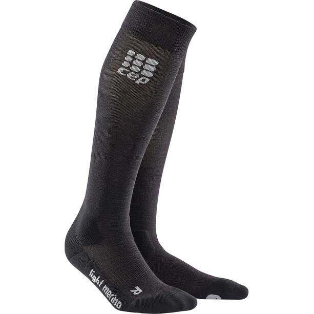 cep Pro+ Outdoor Light Merino Socken Damen schwarz