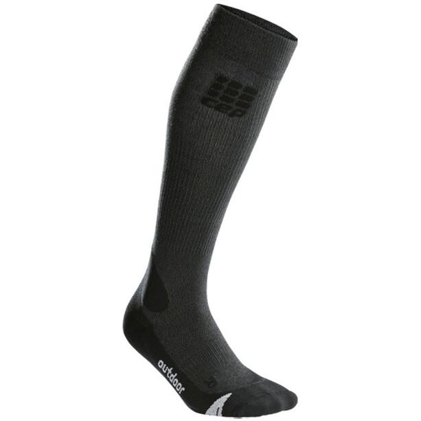 cep Pro+ Outdoor Merino Socken Damen grey/black