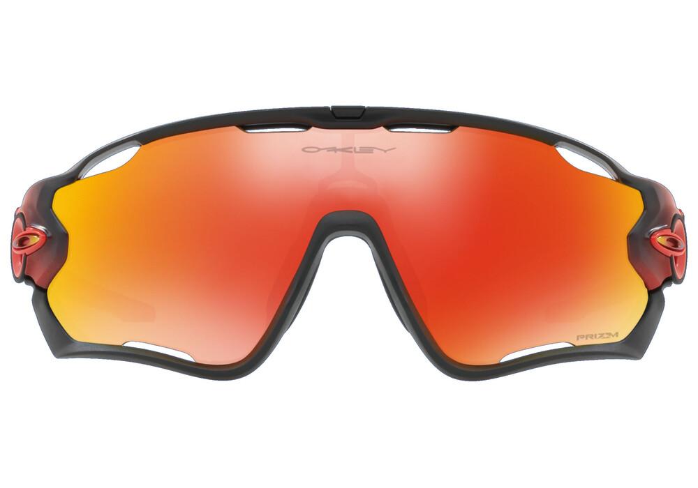 oakley jawbreaker lunettes cyclisme rouge noir boutique de v los en ligne. Black Bedroom Furniture Sets. Home Design Ideas