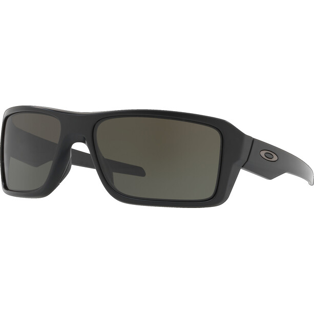 Oakley Double Edge Brille matte black/dark grey