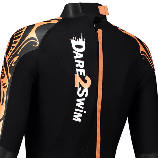 Dare2Tri To Swim Wetsuit Damen black/orange