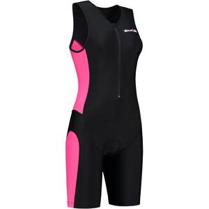 Dare2Tri Frontzip Trisuit Damen schwarz/pink schwarz/pink