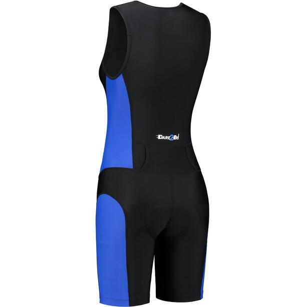Dare2Tri Frontzip Trisuit Damen schwarz/blau
