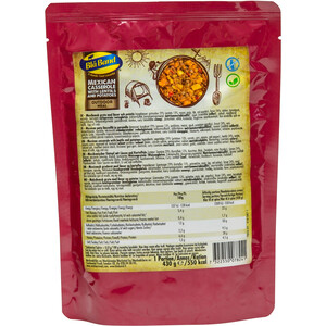 Blå Band Outdoor Meal 430g Mexican Casserrole with lentils and potatoes