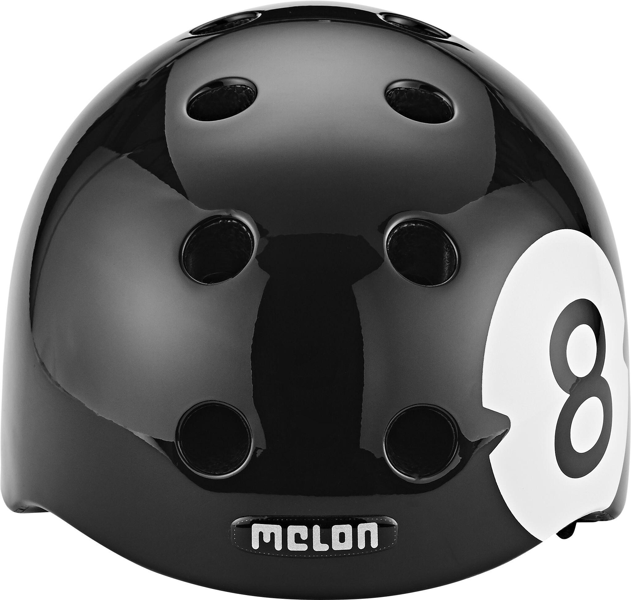 melon urban active story bike helmet 8 ball black at. Black Bedroom Furniture Sets. Home Design Ideas