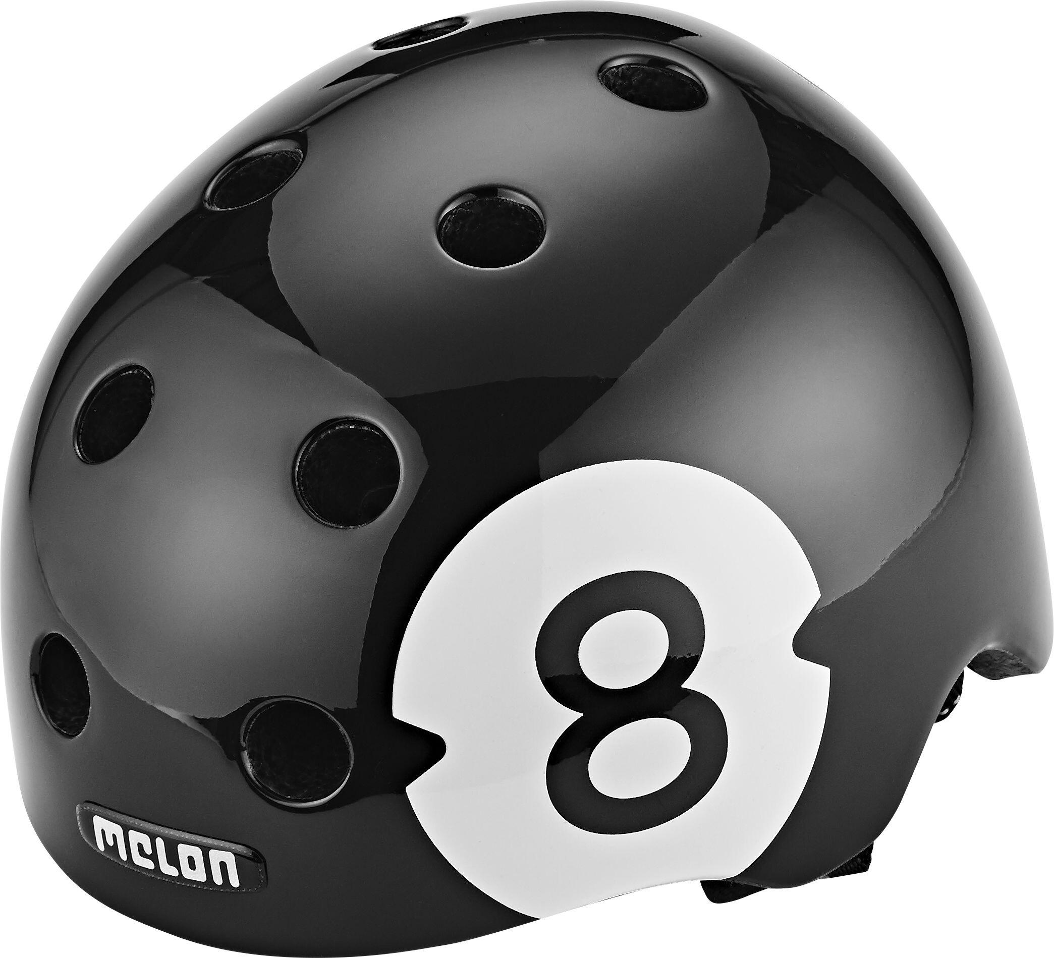 melon urban active story casco per bici 8 ball nero su. Black Bedroom Furniture Sets. Home Design Ideas