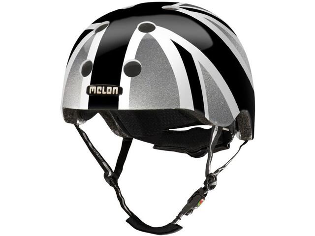 melon urban active story casco per bici union jack plain. Black Bedroom Furniture Sets. Home Design Ideas