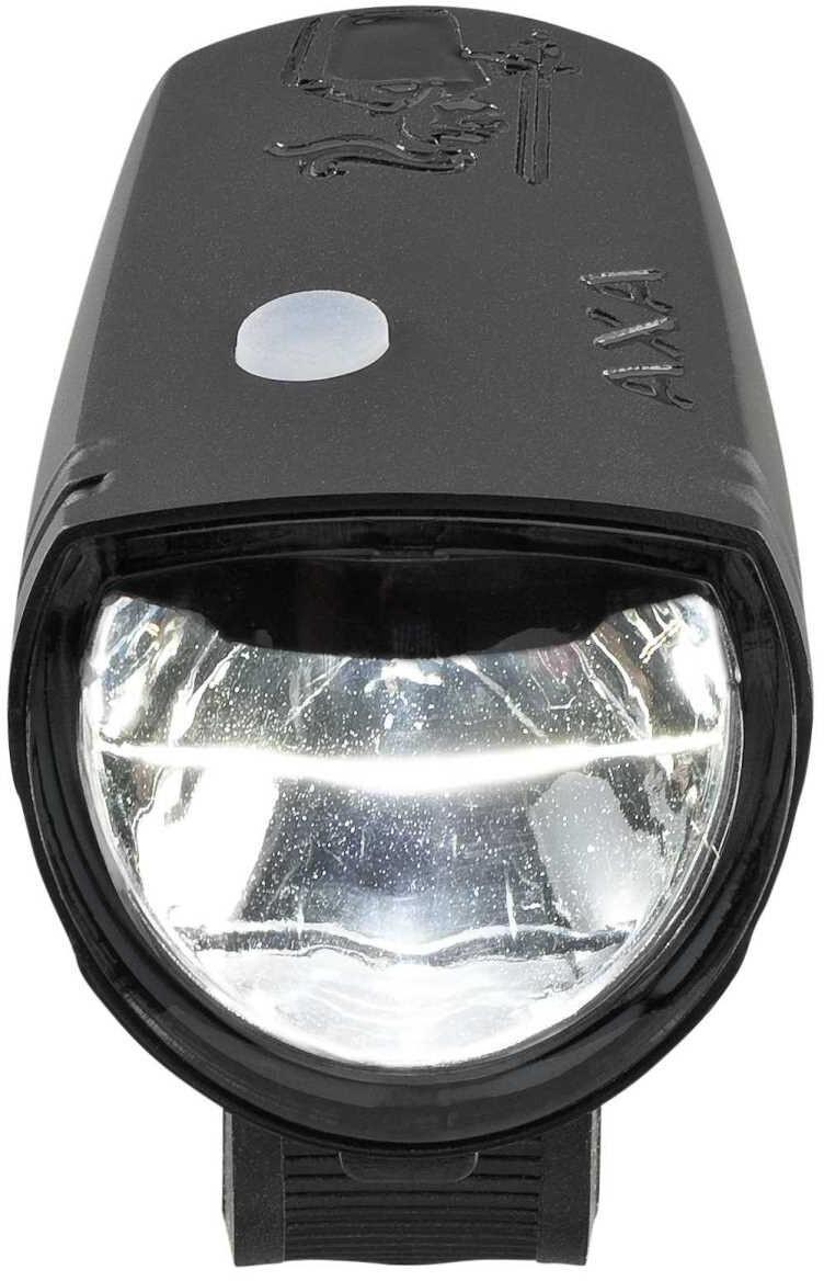 axa greenline 15 bike lights sets black at. Black Bedroom Furniture Sets. Home Design Ideas