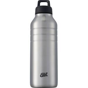 Esbit Majoris Trinkflasche 1000ml silber/schwarz silber/schwarz
