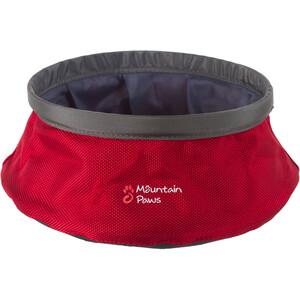 Mountain Paws Water Bowl L Foldable, punainen/harmaa punainen/harmaa