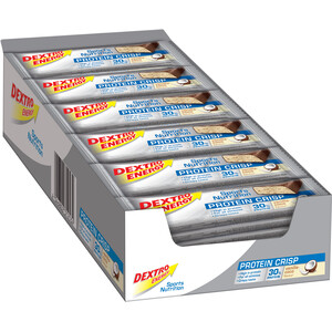 Dextro Energy Protein Crisp Box 24x50g Vanilla-Cocos