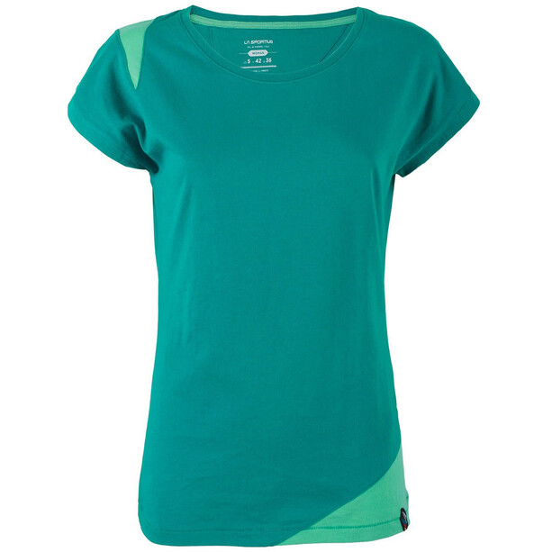 La Sportiva Chimney T-shirt Dam emerald/mint
