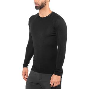Woolpower Lite Rundhalsshirt Herren black black