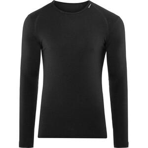 Woolpower Lite Rundhalsshirt schwarz schwarz
