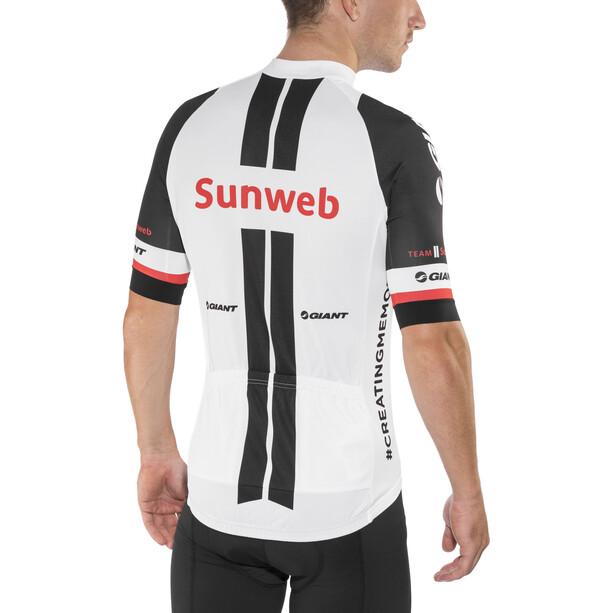 Etxeondo Maillot M/C Standard Original Team Sunweb Kortärmad cykeltröja Herr white/black
