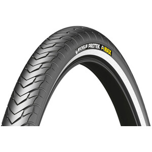 "Michelin Protek Max Reifen 28"" Draht Reflex black black"