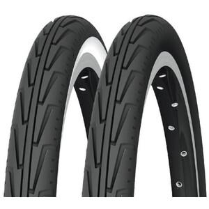 "Michelin City'J 16"" Draht schwarz/weiß schwarz/weiß"
