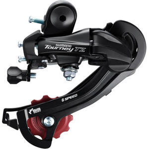 Shimano Tourney TZ RD-TZ500 Schaltwerk 6-fach Direct Mount schwarz schwarz