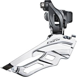Shimano Claris FD-R2030 Forskifter 3x8s Down Swing høj, sølv/grå sølv/grå