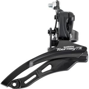 Shimano Tourney TZ FD-TZ500 Umwerfer 3x6/7-fach Down Swing Schelle hoch schwarz schwarz