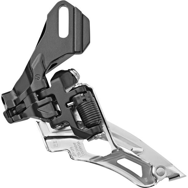 Shimano Deore MTB FD-M6000 Umwerfer 3x10-fach Side Swing Direktmontage hoch schwarz