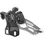 Shimano Deore MTB FD-M6000 Front Derailleur 3x10-gir Side Swing Direct Mount dyp black