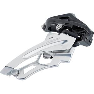 Shimano Deore MTB FD-M6000 Umwerfer 3x10-fach Side Swing Schelle Hoch schwarz/silber schwarz/silber