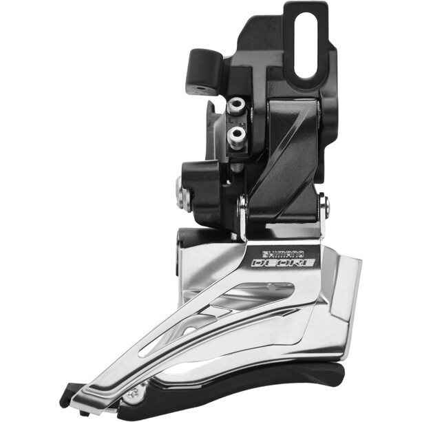 Shimano Deore MTB FD-M6025 Umwerfer 2x10-fach Down Swing Direktmontage Hoch schwarz