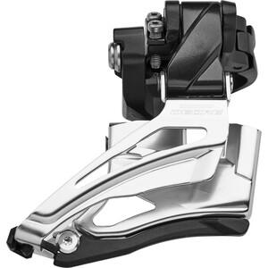 Shimano Deore MTB FD-M6025 Umwerfer 2x10-fach Down Swing Schnelle hoch schwarz/silber schwarz/silber