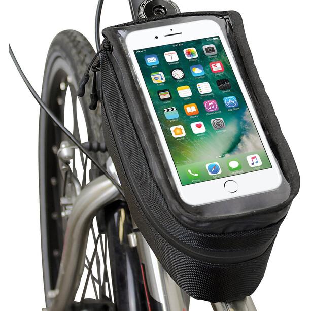 NC-17 Connect Sacoche vélo pour smartphone Appcon, noir