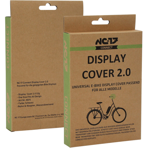 NC-17 Connect Display Cover 2.0 Schutzhülle für E-Bike Displays