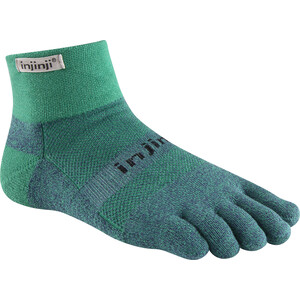 Injinji Trail MW Mini-Crew Xtralife Socks turkos turkos