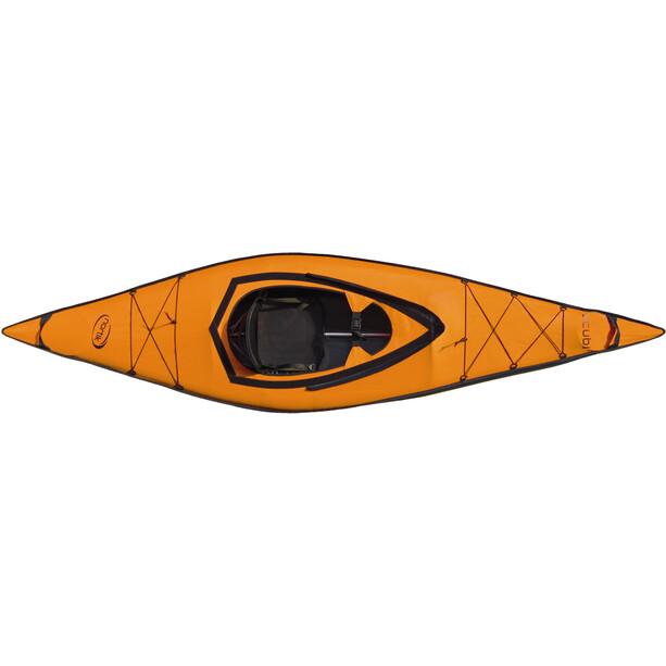 nortik scubi 1 Kayak Complete Set orange/black