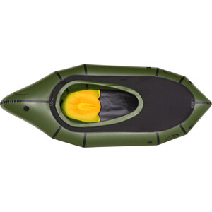 nortik TrekRaft Expedition Boat with Hood dark green/black dark green/black