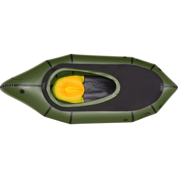 nortik TrekRaft Expedition Boat with Hood dark green/black