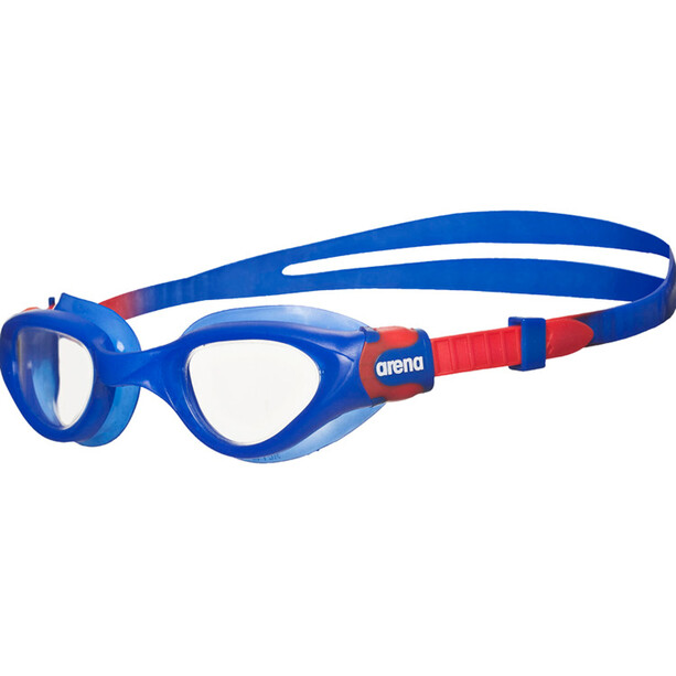 arena Cruiser Soft Goggles Kinder blue-clear-red