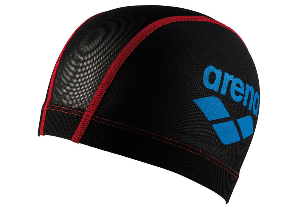 arena power mesh bonnet de bain noir sur. Black Bedroom Furniture Sets. Home Design Ideas