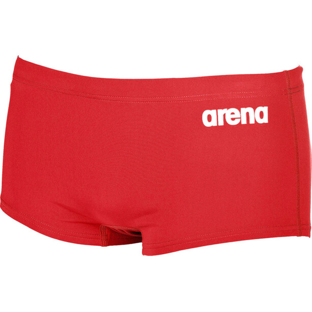 arena Solid Squared Shorts Herren red-white